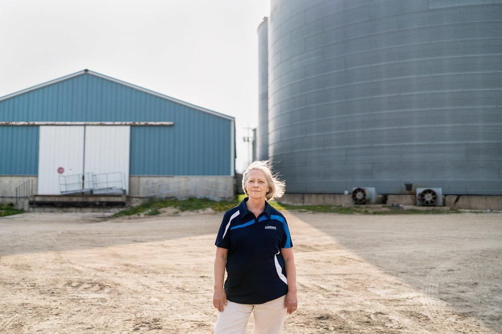 Nancy, Agricultural Coop Manager