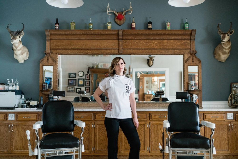 Jess, Barber //  16.8% of Barbers are Women