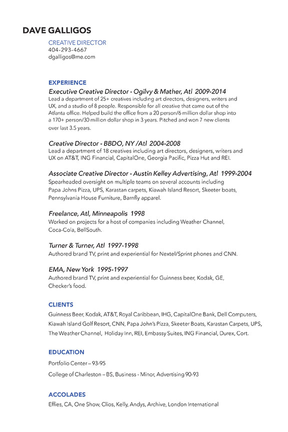 Creative Director Cover Letter Sample Creative Resume Objective VisualCV