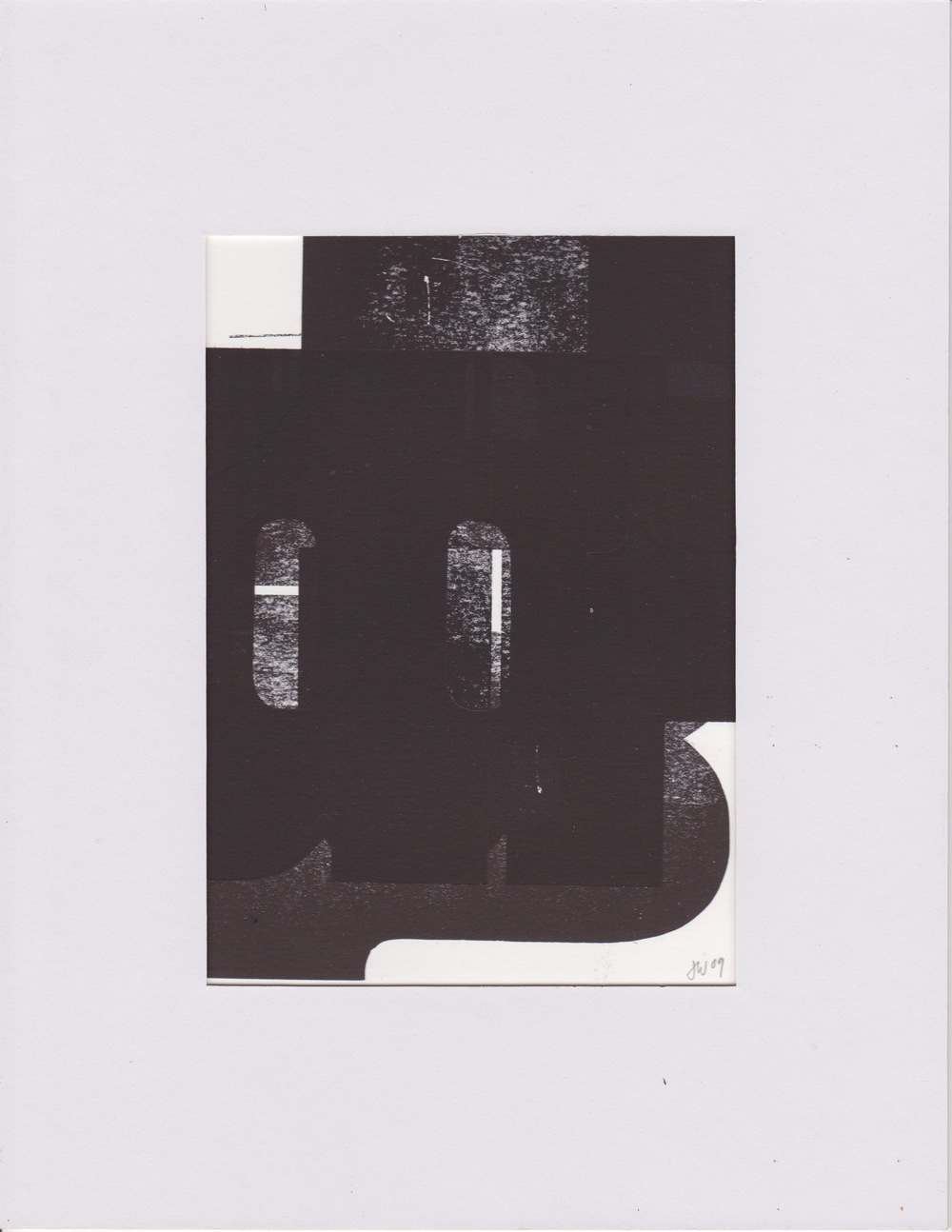 Woodtype Monotype 11