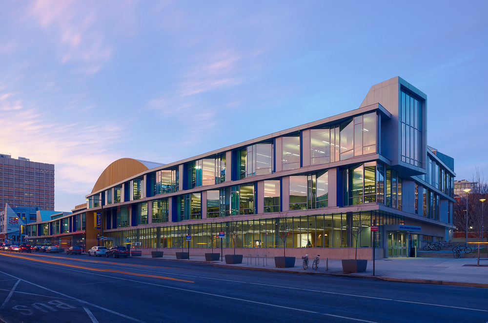 Drexel University Athletics  Philadelphia, PA  Architectural Photography by Architectural Photographer Joseph M Kitchen