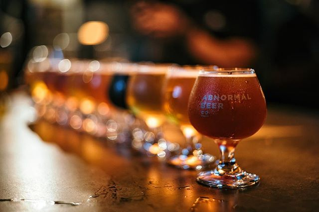 Beer flight #beerporn at @thecorkandcraft from a previous #beersandcameras event. Next event this Thursday at @culturebrewingco! Check our website for details. PC: @juanny6pac