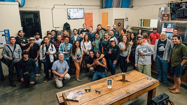 We've been having insane turn-outs for our bi-weekly meet-up these past months! Over 40 attendees at @mikehessbrewing alone,  plus over 7 others that met-up at at @alesmithbrewing 🙏🏼 I can't tag you all, but if you see yourself above comment below! #communityBuilding #photographers