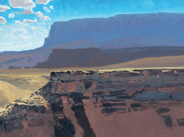 Layers, Vermillion Cliffs by Len Chmiel