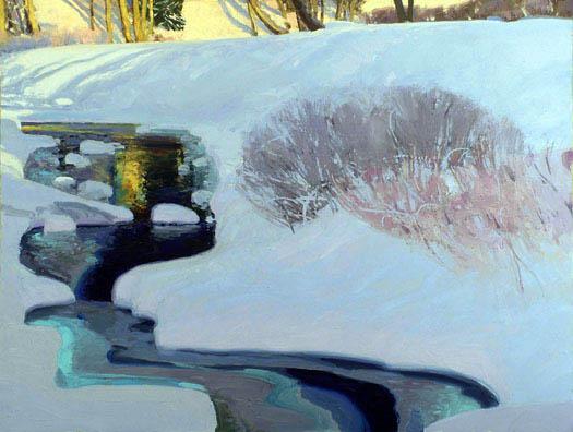 Hoar Frost Harmony by Len Chmiel