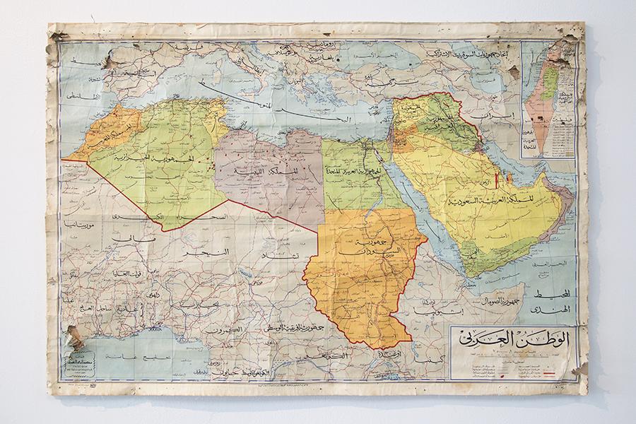 SOHOにあるニューミュージアムで開催中の Here And Elsewhere に行ってきました。 中東というコンテキストを考えながら、見るエキシビション。 たぶん、キューレーション自体が、一つのアートなのですね。