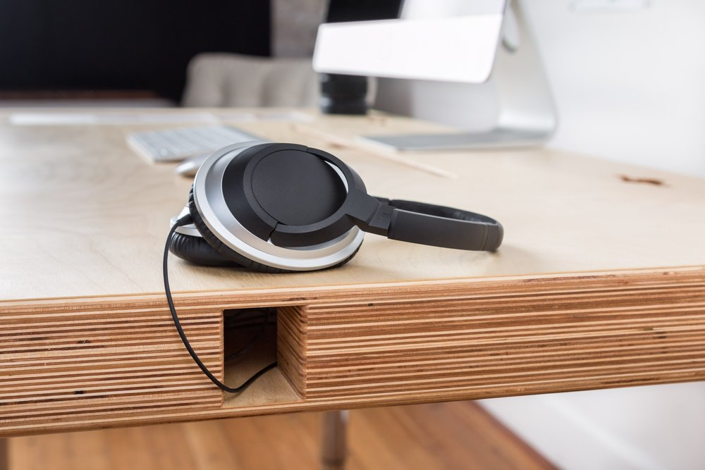 Side Ports - We love to run our headphone cord out the side. No more tangling in your chair.