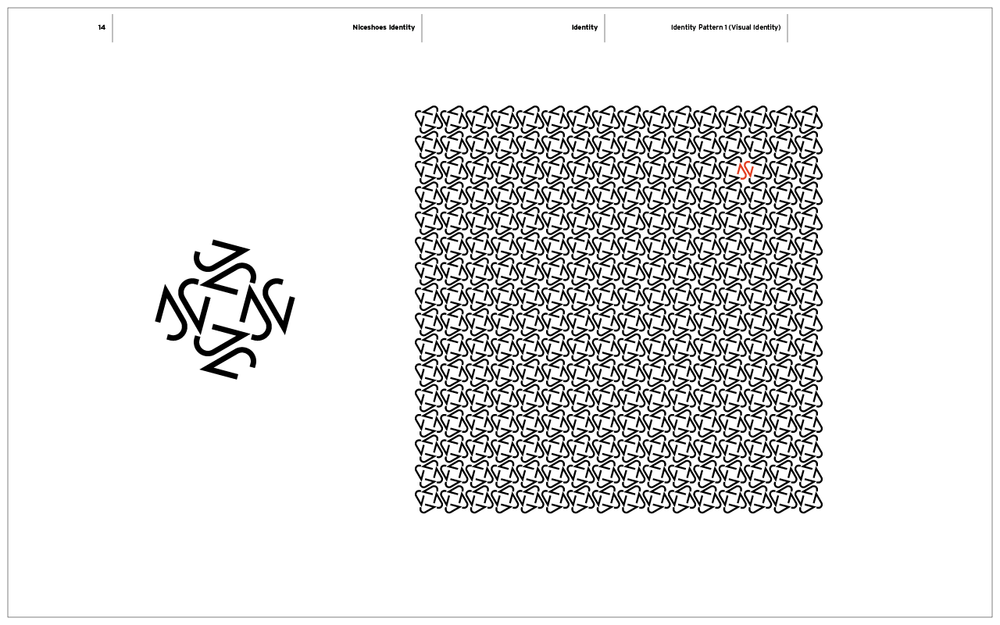Nice Shoes Branding / Brand Pattern