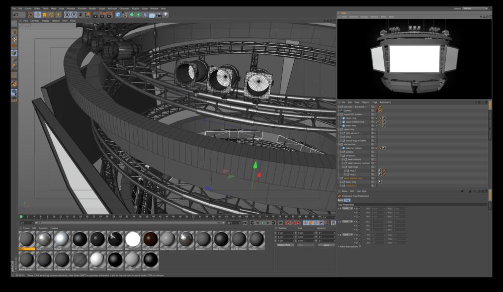 Big East Conference / 3D Jumbotron
