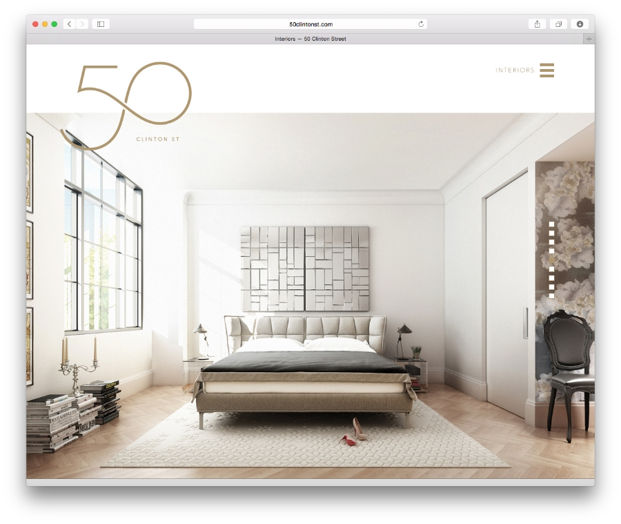 Douglas Elliman / 50 Clinton Street / Website