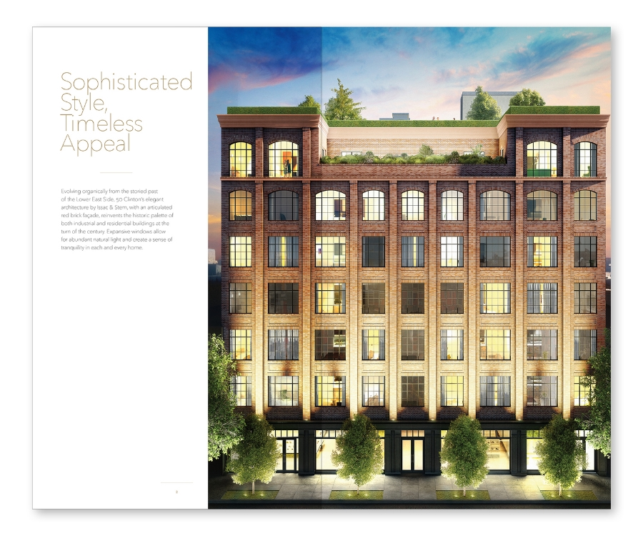 Douglas Elliman / 50 Clinton Street / Brochure