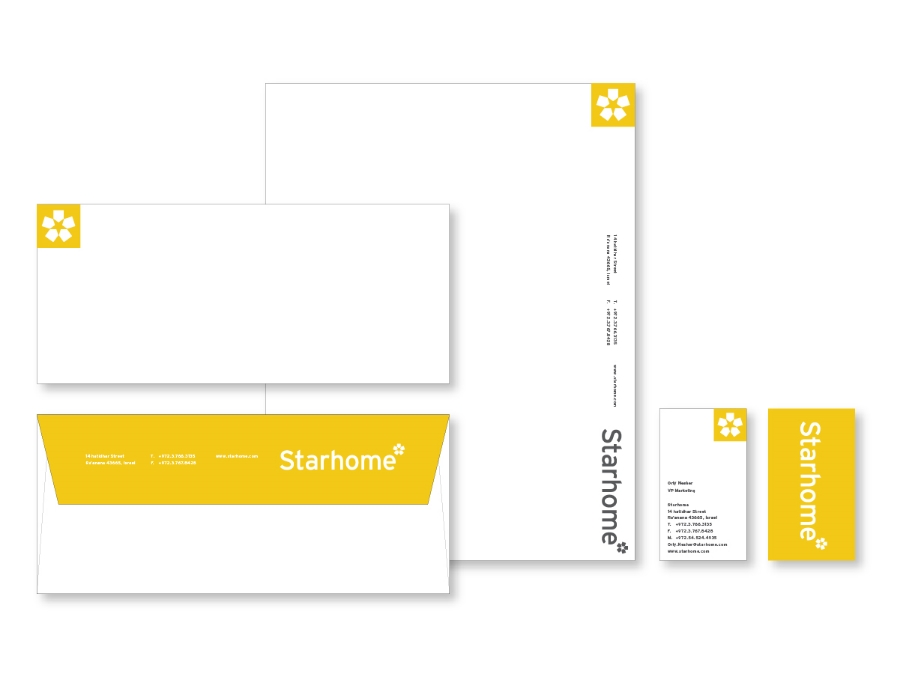 Starhome Re-Branding / Corporate Identity