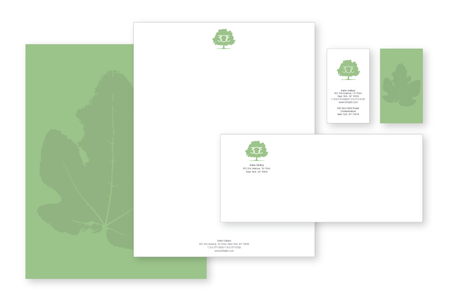 Toll Brothers / 303 East 33rd / Corporate Identity