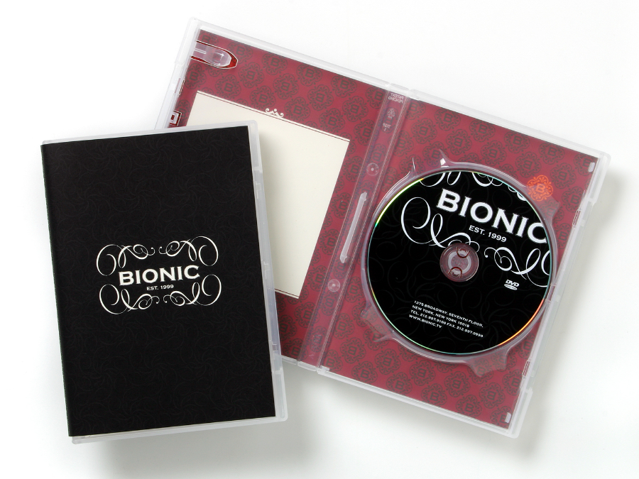 Bionic Branding / DVD Packaging