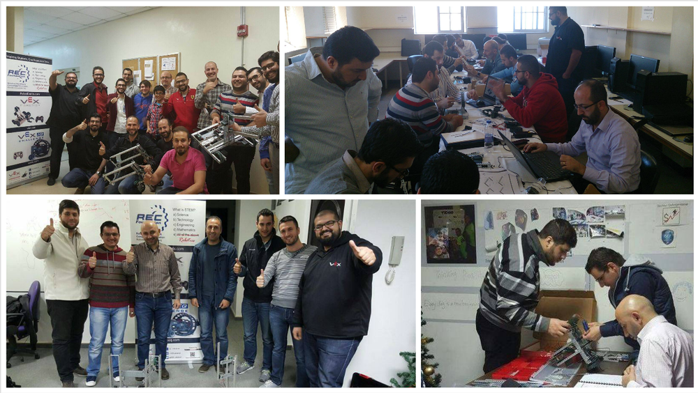 Training Of Trainers Vex Robotics Lebanon