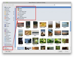 Import Photos or Lightroom Catalog