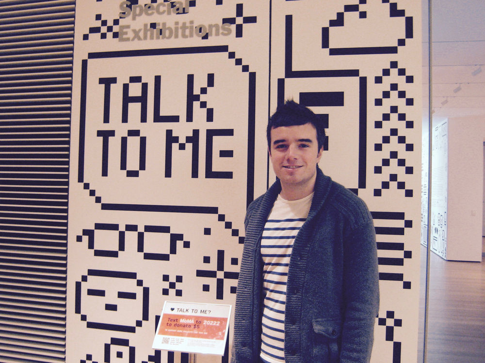 Talk To Me at MOMA in 2011