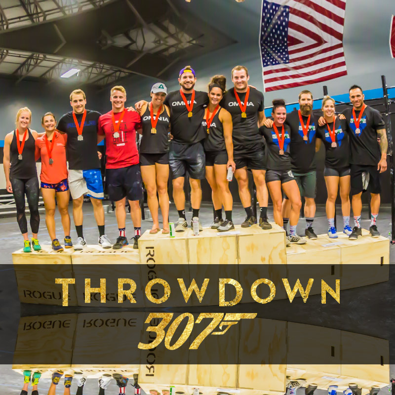 The Throwdown was a blast! 4th trip to Casper and Omnia Dynasty steals the show with their first place finish. The previous 2 years' champions, We POOD Ourselves,came in 2nd and the AlphaPack finished third. Thanks to all who came out to help, judge, cheer and compete. Our 307 community is pretty awesome.
