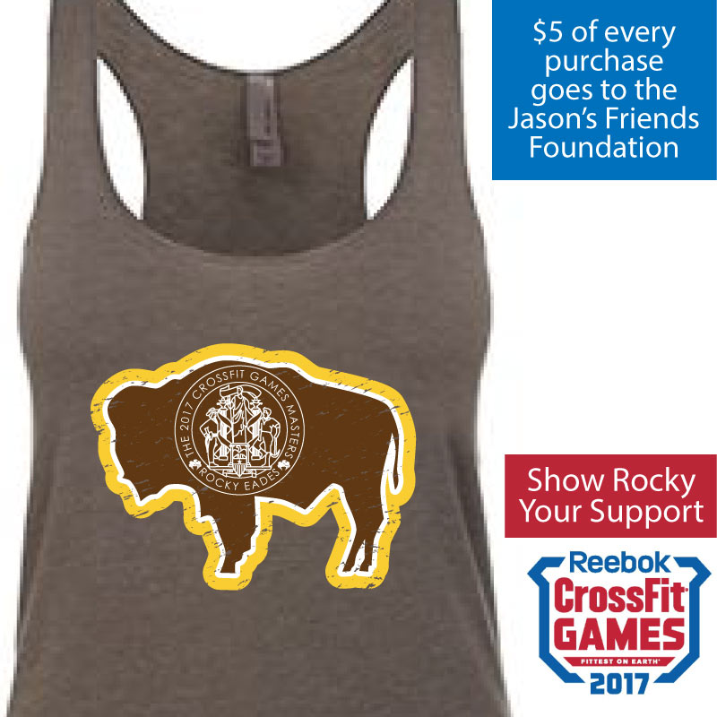 Support Rocky by wearing his shirt!