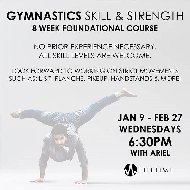 𝗚𝘆𝗺𝗻𝗮𝘀𝘁𝗶𝗰𝘀 𝗦𝗸𝗶𝗹𝗹 & 𝗦𝘁𝗿𝗲𝗻𝗴𝘁𝗵 Jan 9 - Feb 27   FREE 𝘕𝘰 𝘱𝘳𝘪𝘰𝘳 𝘦𝘹𝘱𝘦𝘳𝘪𝘦𝘯𝘤𝘦 𝘯𝘦𝘤𝘦𝘴𝘴𝘢𝘳𝘺. 𝘈𝘭𝘭 𝘴𝘬𝘪𝘭𝘭 𝘭𝘦𝘷𝘦𝘭𝘴 𝘸𝘦𝘭𝘤𝘰𝘮𝘦. #gymnasty #307