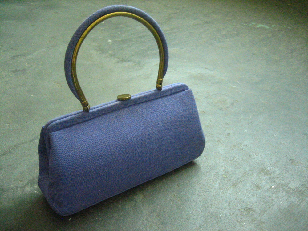 Perse Purse = Purple Purse