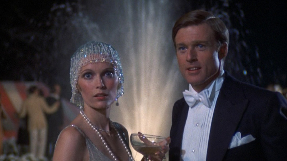 Mia Farrow and Robert Redford in 1974's film version of   The Great Gatsby .