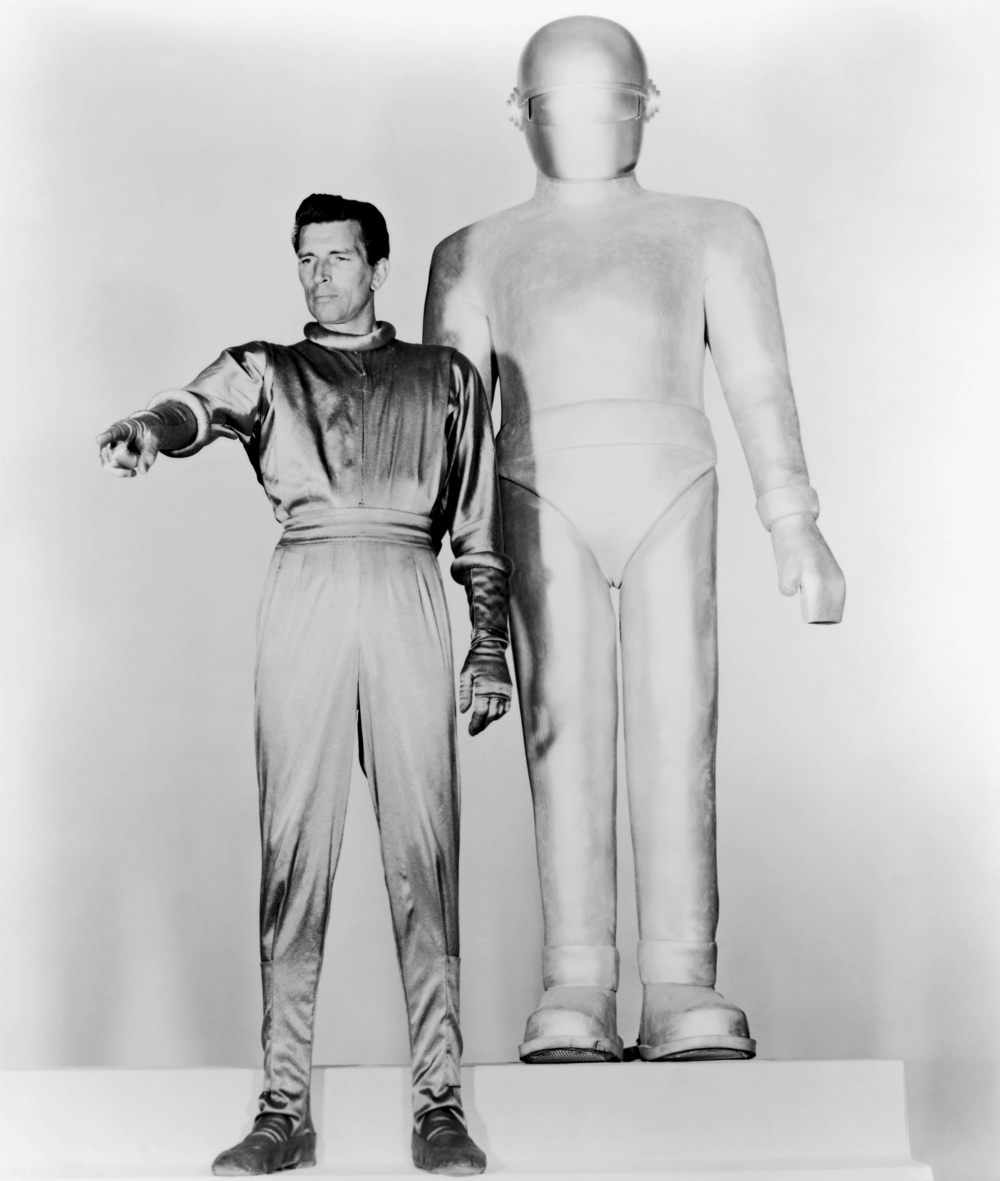 From the movie   The Day the Earth Stood Still.