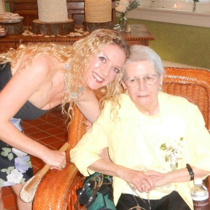 My Granny and me. I miss her every day.