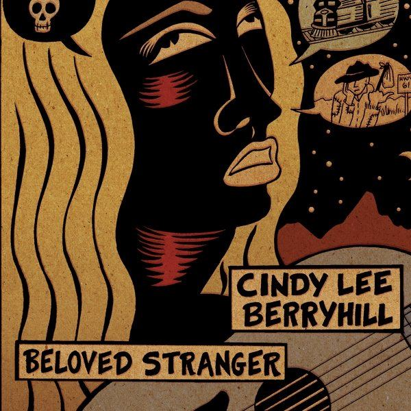 Cindy Lee Berryhill CD (2012).Art Direction & Packaging Design. Cover lllustration by Mary Fleener.