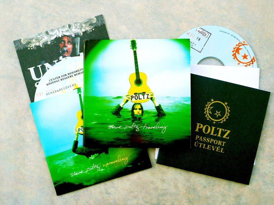 Steve Poltz CD + Bonus CD (2010).Art Direction & Packaging Design.