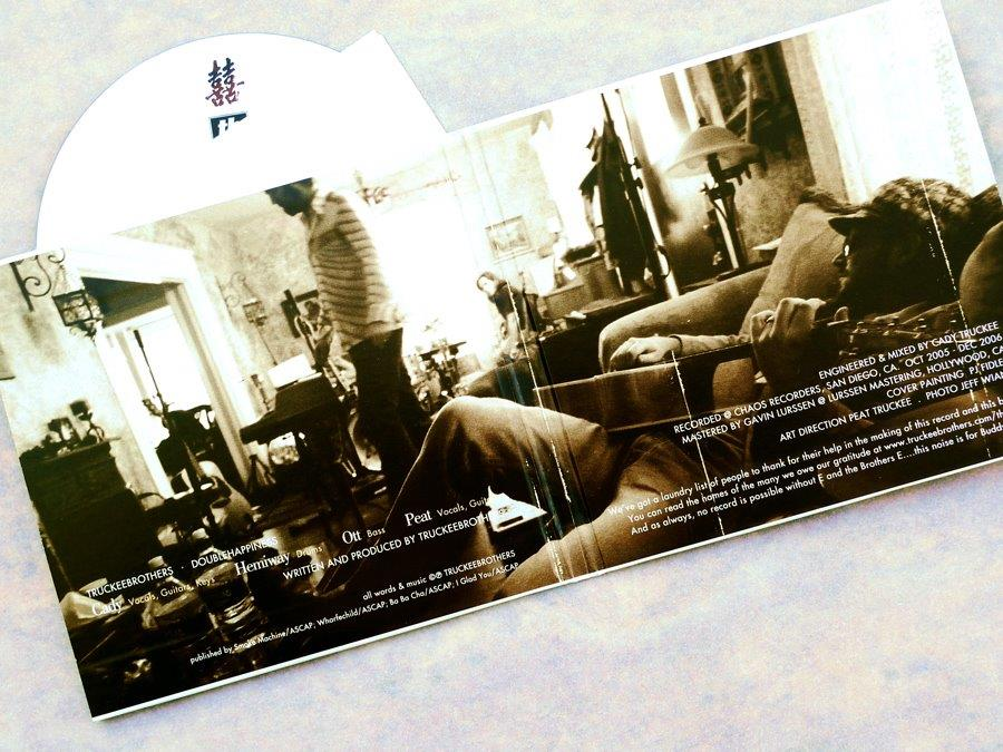 Truckee Brothers CD (2007).Art Direction & Packaging Design. Photographer Jeff Wiant.