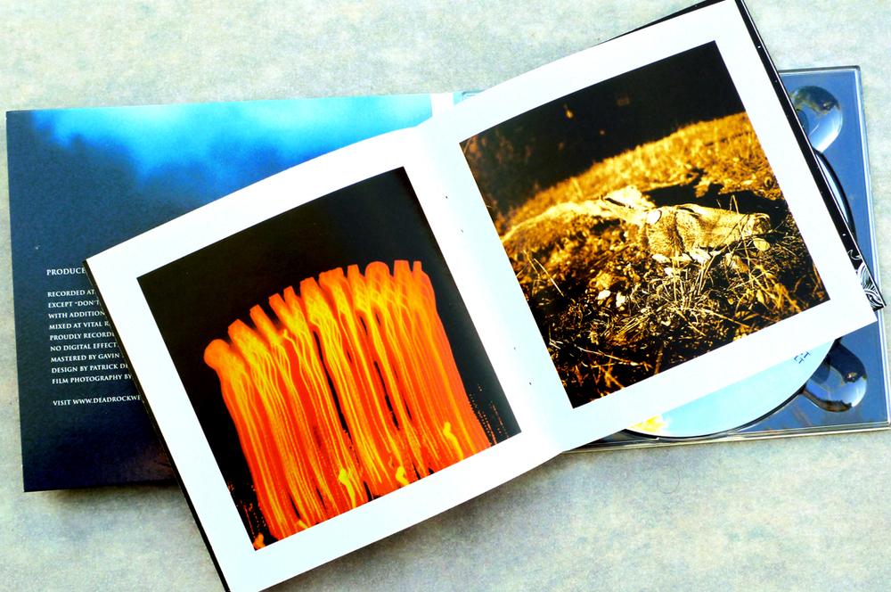 Dead Rock West CD (2006). Art Direction & Packaging Design. Photographer Frank Lee Drennen. Full color photo and lyric booklet.