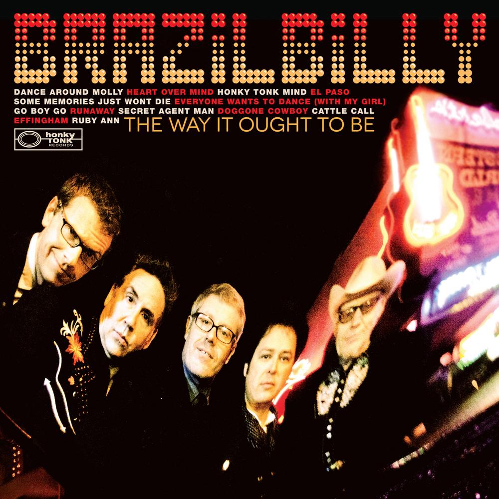 Brazilbilly Vinyl LP (2012). Art Direction & Packaging Design.