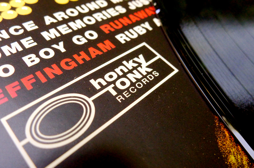 Honky Tonk Records, Nashville, TN. Logo & Branding (2012). Created as the record brand for releases from artists connected to Robert's Western World.