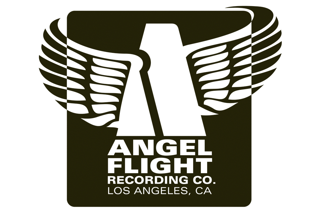 Angel Flight Recording Company. Logo & Branding (2014).