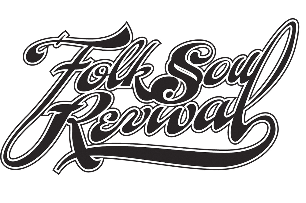 Logo (2012). Designed for VIrginia band Folk Soul Revival.
