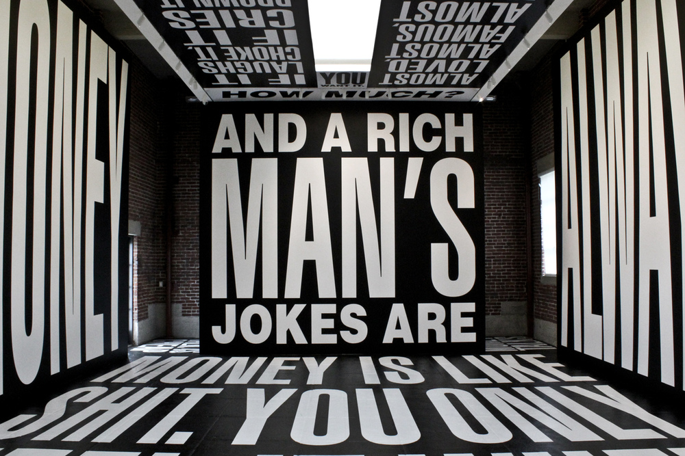 Money (Los Angeles, CA) Artist: Barbara Kruger