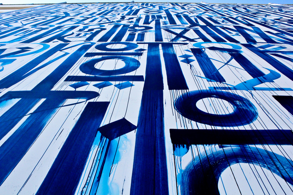 West Hollywood Garage (Los Angeles, CA) Artist: Retna