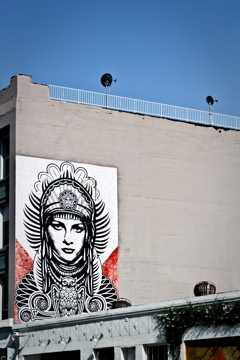 Obey (Los Angeles, CA) Artist: Shepard Fairey