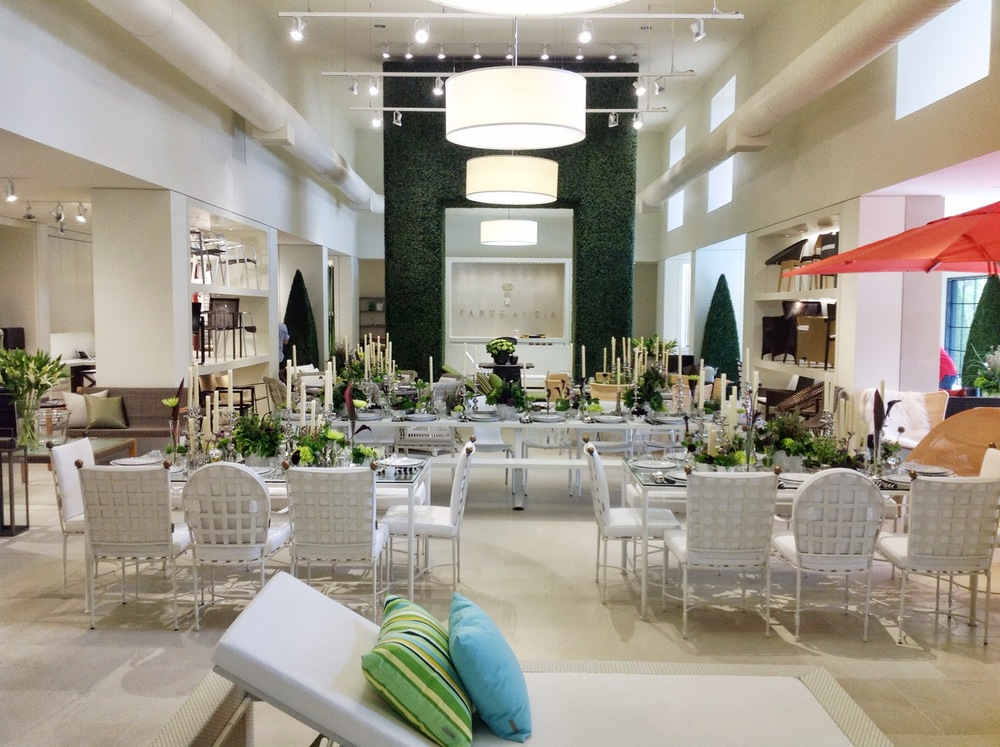 Launch Party- JANUS et Cie Modern Flowers by Maxit Flower Design in Houston, Texas