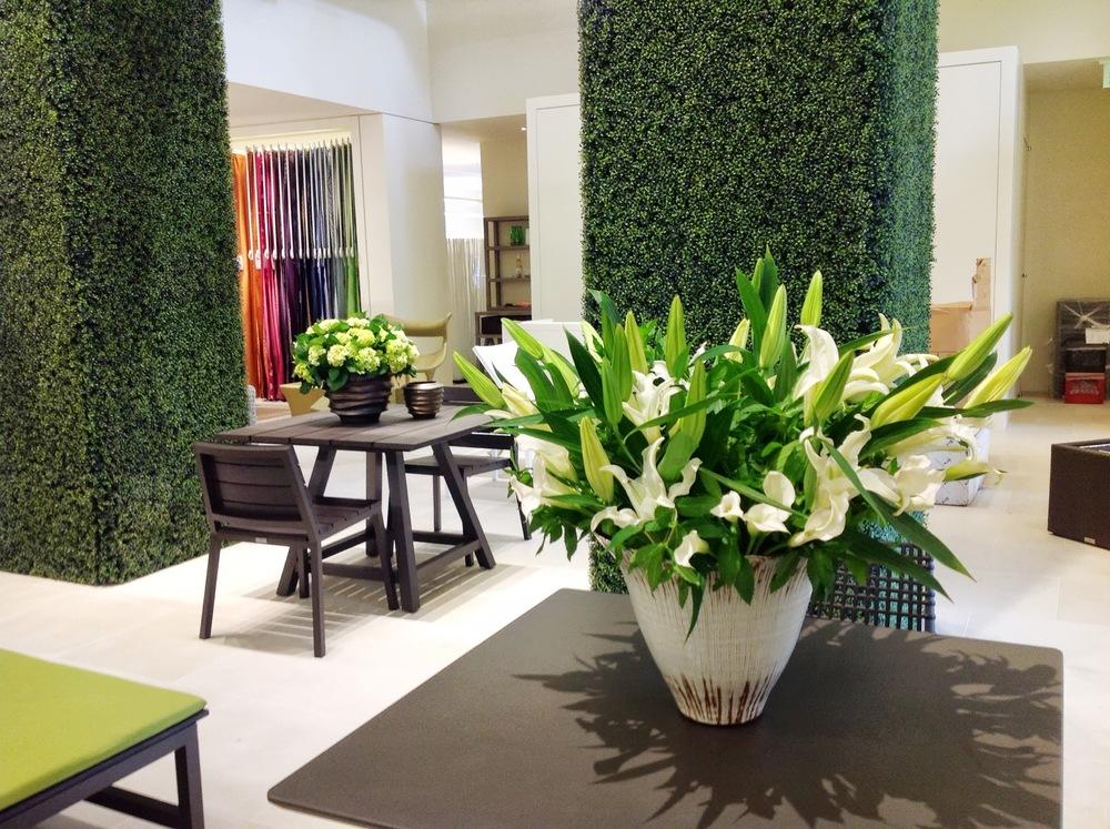 Launch Party- JANUS et Cie Large Arrangements by Maxit Flower Design in Houston, Texas