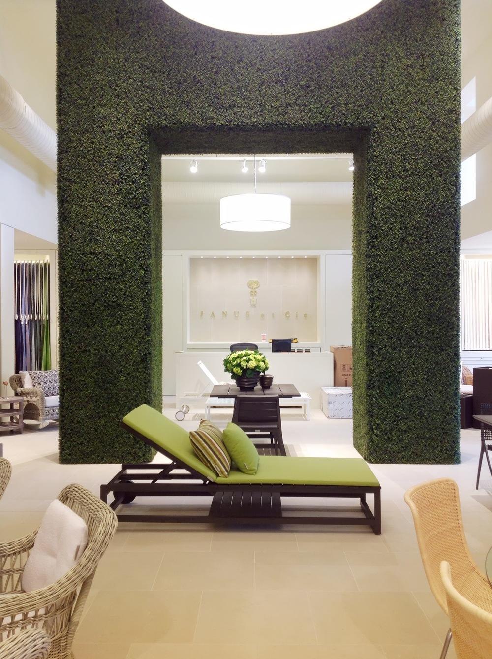 Houston, TX Event Design- JANUS et Cie- Maxit Flower Design Entryway