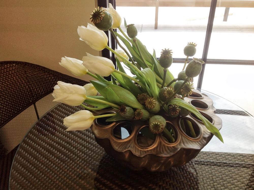 Houston, TX Event Design- JANUS et Cie- Maxit Flower Design Modern Flower Details