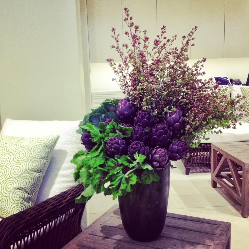 Houston, TX Events- JANUS et Cie-Maxit Flower Purple Flower Arrangements in Houston, TX