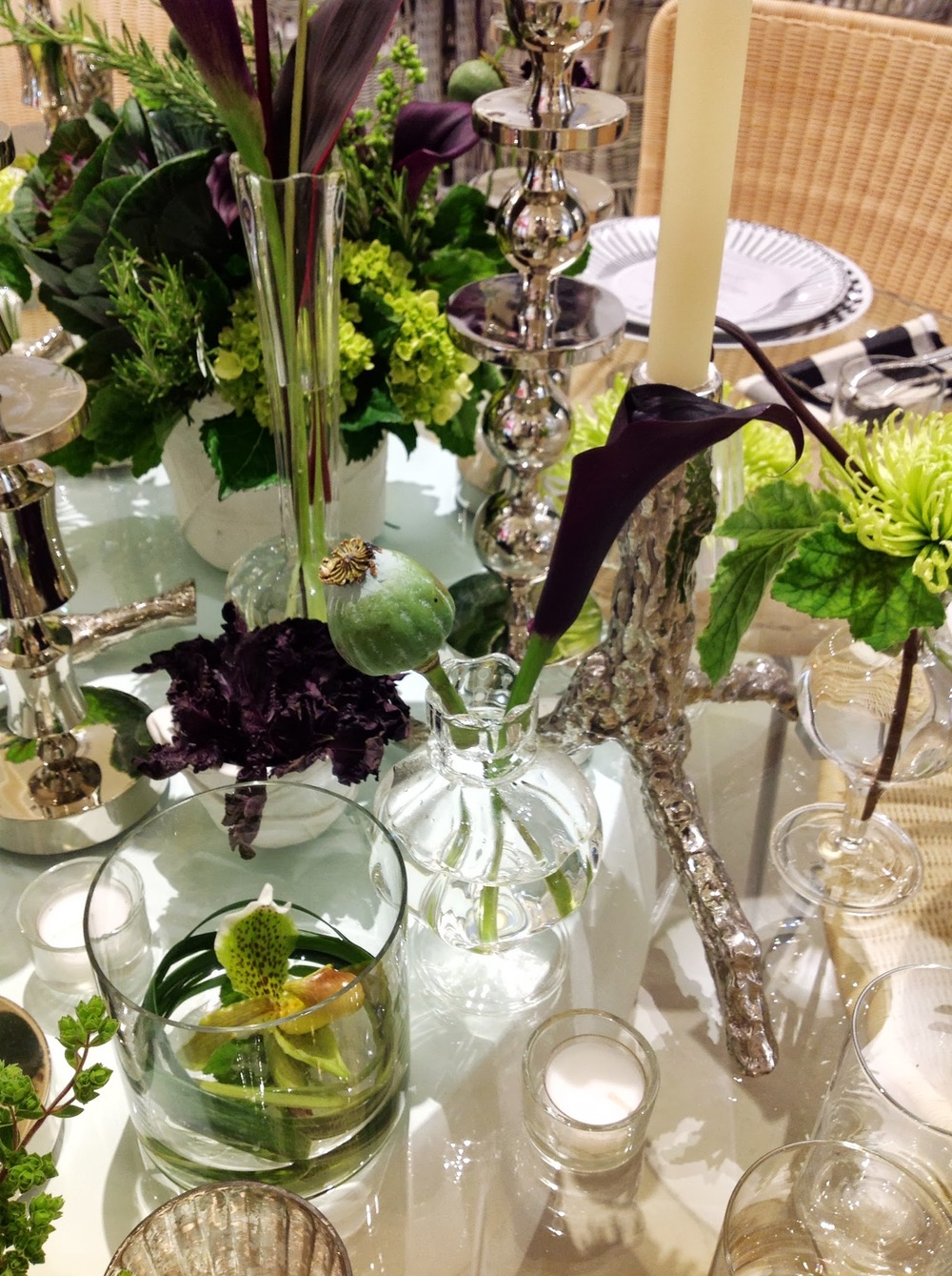 Launch Party- JANUS et Cie Centerpieces by Maxit Flower Design in Houston, Texas