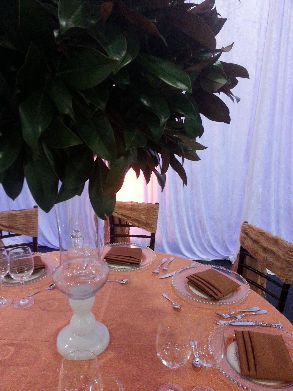 Magnolia Tall Centerpiece