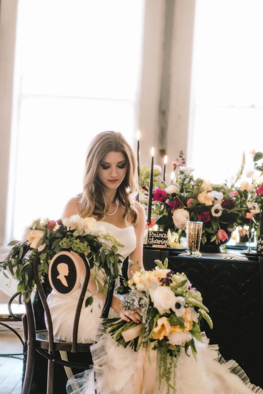 Maxit Floral Design Photoshoot- Dark Flowers- Houston, TX