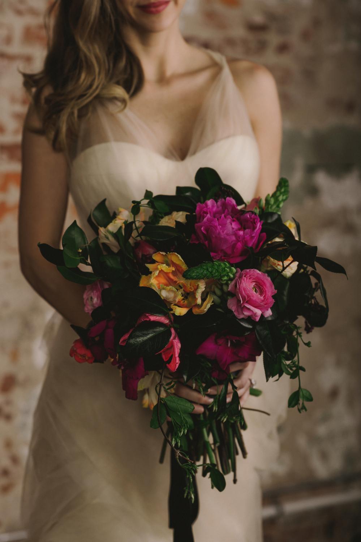 Maxit Flower Design- Dark Flowers Photoshoot- Bridal Bouquet- Houston Events