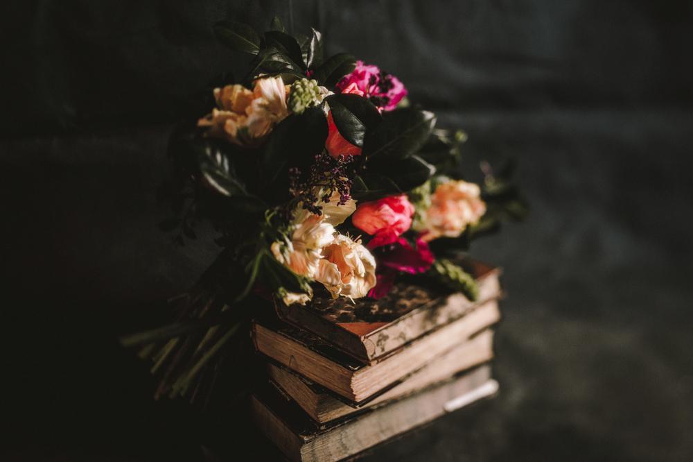 Houston, TX- Dark Flowers Event- Maxit Flower Design- Bouquet