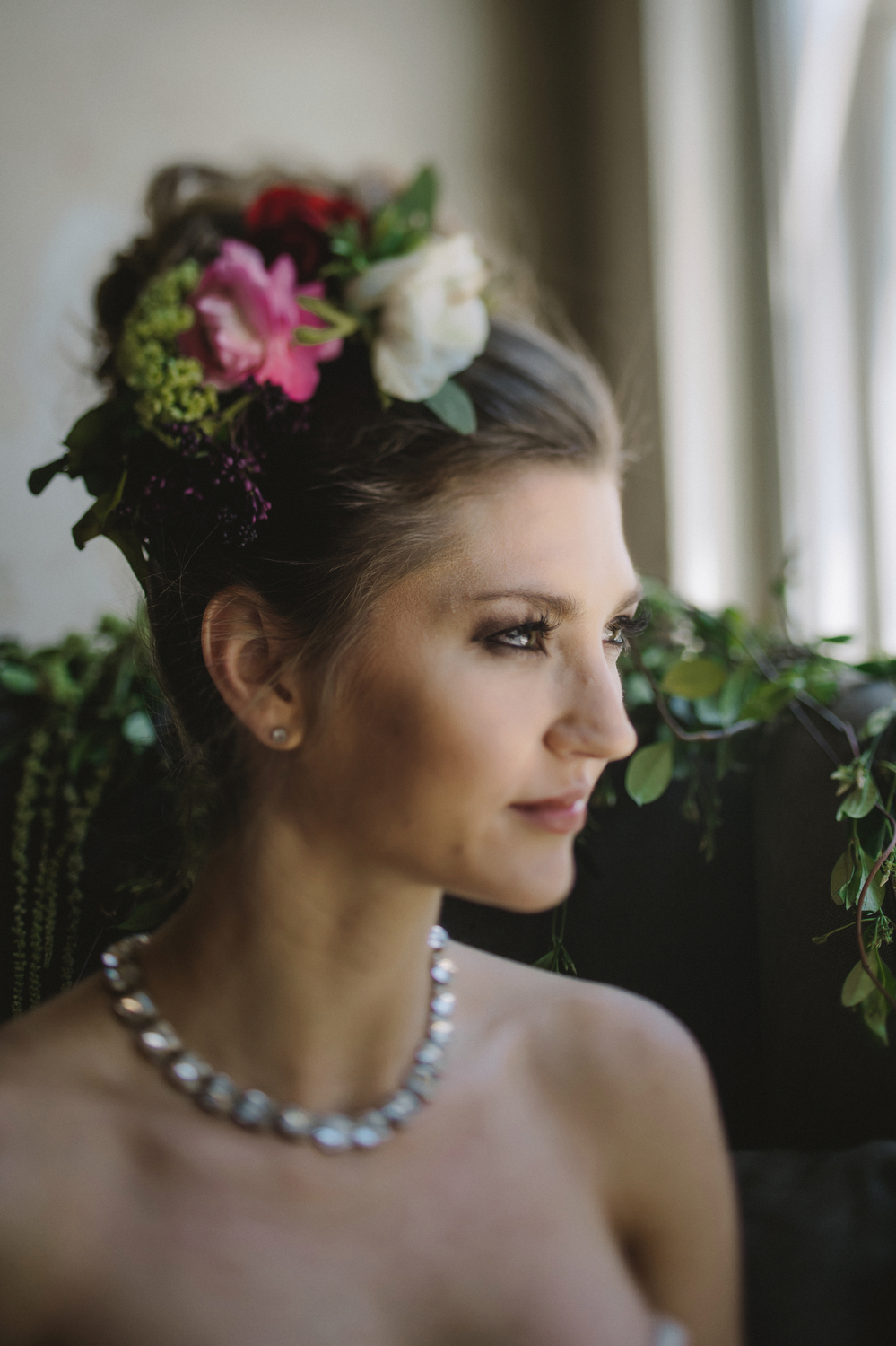 Maxit Flower Design- Bride Hair Piece- Houston Events